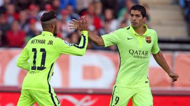 El Barcelona confía en Neymar y Suárez para fulminar al Real Madrid