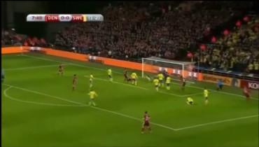 VIDEO: Clasificación Euro 2016: Resumen del Dinamarca 2-2 Suecia