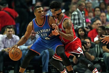 Thunder 98-104 Bulls; Rose evitó remontada