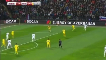 VIDEO: Clasificación Euro 2016: Resumen del Eslovenia 1-1 Ucrania
