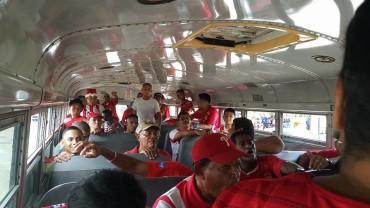 Vida facilita 10 buses a sus aficionados para apoyar al equipo en Progreso