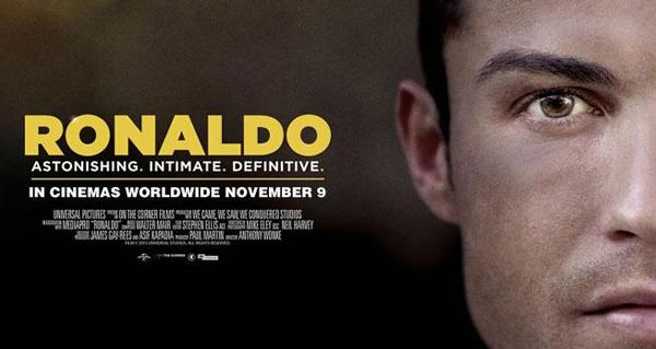VIDEO: Trailer de la película de Cristiano Ronaldo