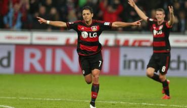 VIDEO: ¿Has visto todos los golazos de Chicharito con el Leverkusen?