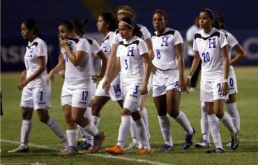 Las chicas de la Selección de Honduras cayeron ante Estados Undios