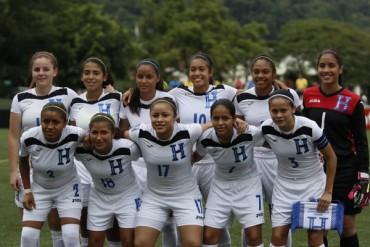 La Sub-20 femenina de Honduras se mete a las semifinales del Premundial