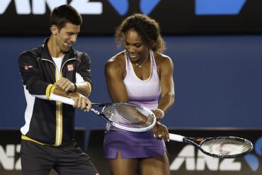 Tenis   Serena y Djokovic, jugadores del año