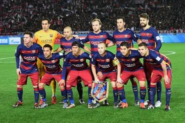 El Barcelona, es el equipo deportivo del año 2015