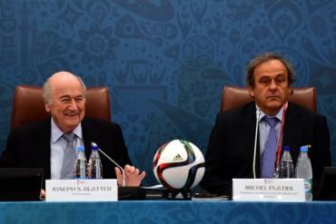 Blatter y Platini, suspendidos ocho años