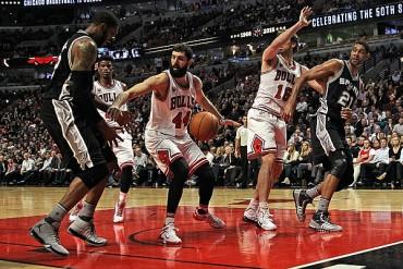 Spurs 89-Bulls 92; Gasol logró doble-doble