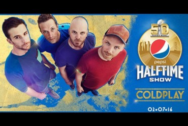 NFL confirmó a Coldplay para el Super Bowl 50
