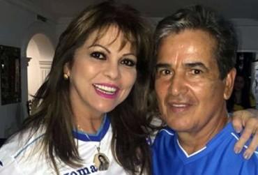 Esposa de Jorge Luis Pinto le mando un mensaje especial de cumpleaños