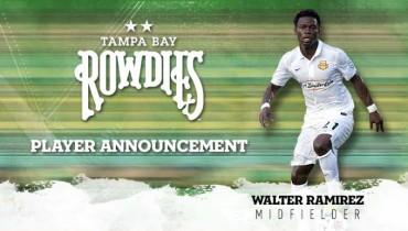 Black Ramírez fue fichado por el Tampa Bay de la NASL