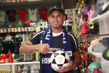 Jorge Zaldívar, podría llegar a las filas del Motagua