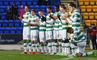 El Celtic de Emilio Izaguirre fue sorprendido en su casa por el Motherwell