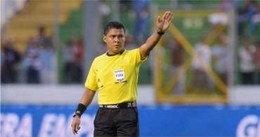 Armando Castro encargado de pitar el decisivo juego entre Motagua–Olimpia