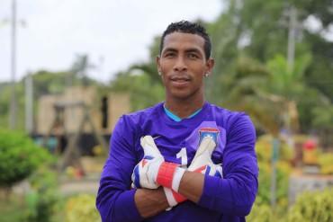 Portero beliceño, Woodrow West disputará su primera final en Honduras