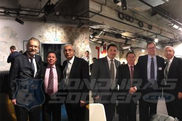 Selim Canahuati presente en la reunión de ligas profesionales de fútbol élite