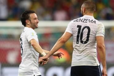 Karim Benzema desea careo con Mathieu Valbuena