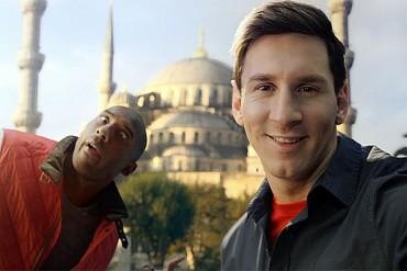 Kobe Bryant agradeció elogios de Messi