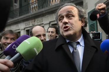 Platini presentó declaración ante el TAS