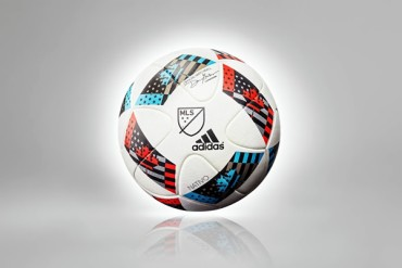 La MLS presentó su nuevo balón oficial