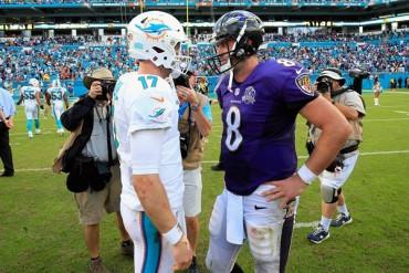 Futbol Americano | Ravens 13-15 Dolphins; Miami frenó mala racha
