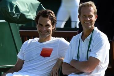 Tenis | Federer se despidió de su entrenador Stefan Edberg