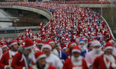 VIDEO: La Carrera popular de Papá Noel