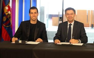 El Barça mejorará la ficha de Sergio Busquets
