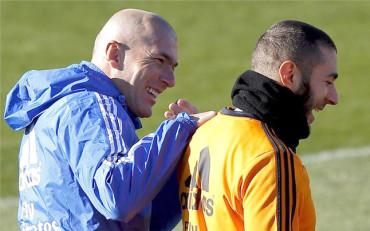 """Zidane: """"Espero por Francia y por Benzema que no sea suspendido"""""""