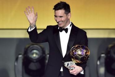 """Messi: """"Ganar el quinto Balón de Oro es más de lo que soñaba"""""""