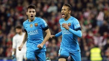 El Barcelona vence al Atletic de Bilbao en los 4tos de final de la Copa del Rey