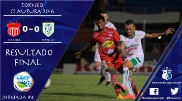 En un deslucido partido, El Vida y Platense empataron sin goles