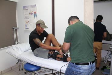 La recuperación de Luis Garrido va por buen camino