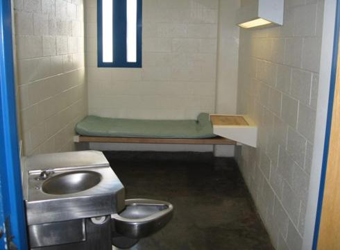 Hawit, recluido en una pequeña celda de 12 metros cuadrados