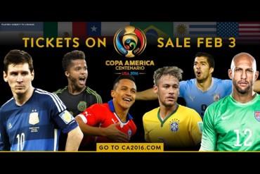 Anunciaron venta de boletos para Copa América