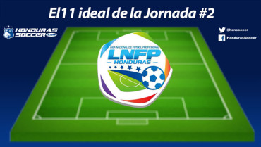 Este es el once ideal de la Jornada #2 del Torneo de Clausura