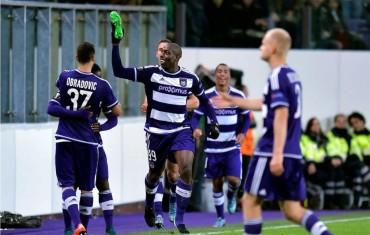 Andy Najar estuvo presente en triunfo del Anderlecht