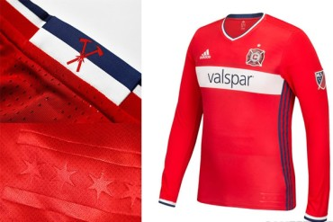 Chicago Fire presentó flamante camiseta
