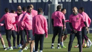 Barça se alista para encarar al Atlético de Madrid el sábado
