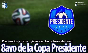 Preparados y listos… ¡Arrancan los octavos de final de la Copa Presidente!