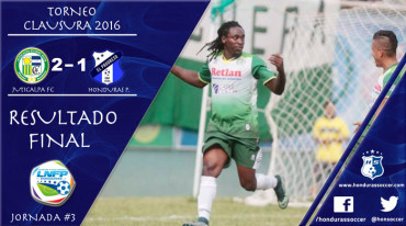 Juticalpa FC vence al campeón Honduras Progreso