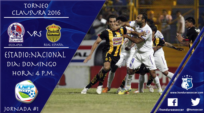 Lista la Jornada #1 del Torneo de Clausura de la Liga Nacional