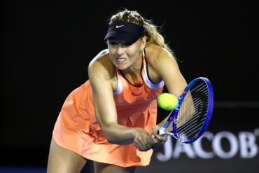 Sharapova avanzó en Australia