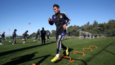 Andy Najar sigue alejado de las canchas por su lesión en la rodilla