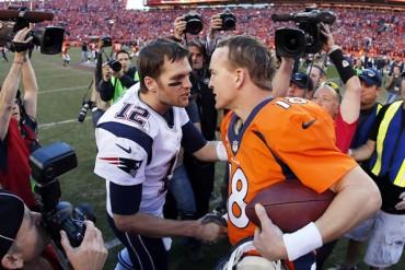 Cuatro veces se han enfrentado, Manning y Brady