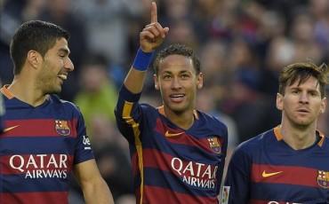 El tridente del Barça vale 489 millones de euros