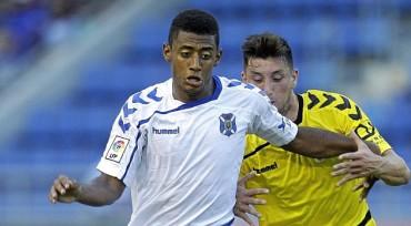 Anthony Lozano no tuvo un buen fin de semana con el Tenerife