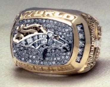 Los anillos de los campeones de cada Super Bowl