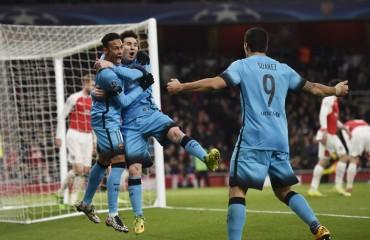 El Barça vence al Arsenal y esta con pie y medio en cuartos de final